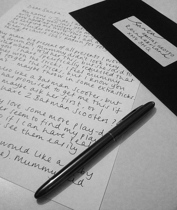 unicorn room santa letter